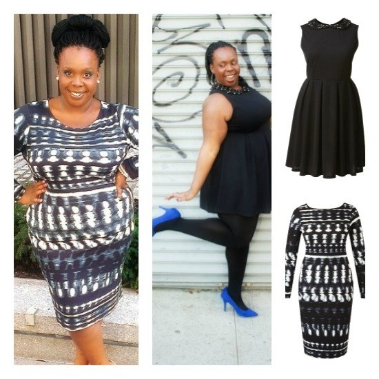 Collage CeCe Olisa Simply Be Holiday Dress Plus Size Fashion