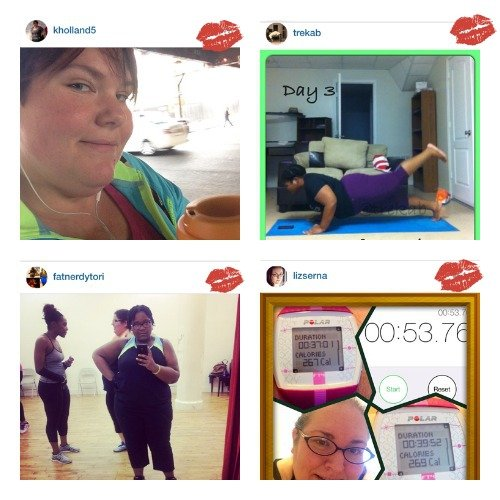 #PSPfit Plus Size Princess Fitness Bootcamp Winners
