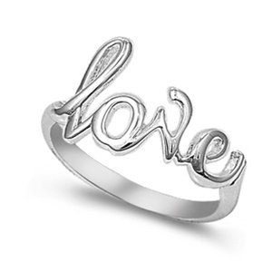 Love Ring Plus Size 10 Fingers