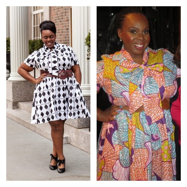 My Wendy Williams Outfit: Plus Size African Print Dress (with ...