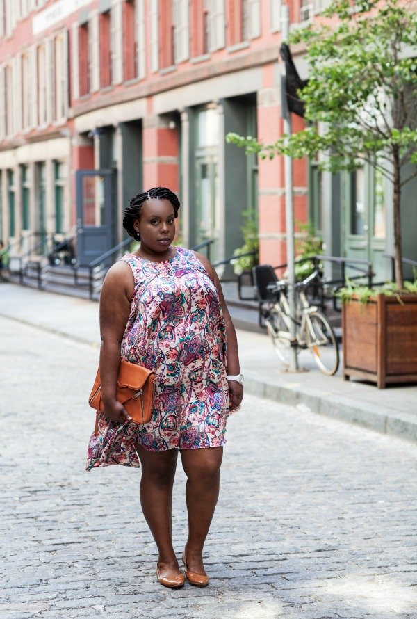 CeCe Olisa PlusSizePrincess.com ASOS Swing Dress 2