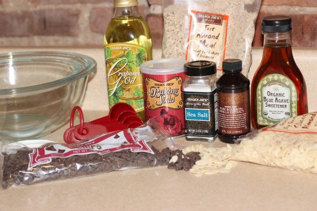 Almond Flour Cookies Ingredients