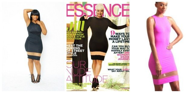 jill scott essence cover dress sept 2014 ekineyo PlusSizePrincess.com