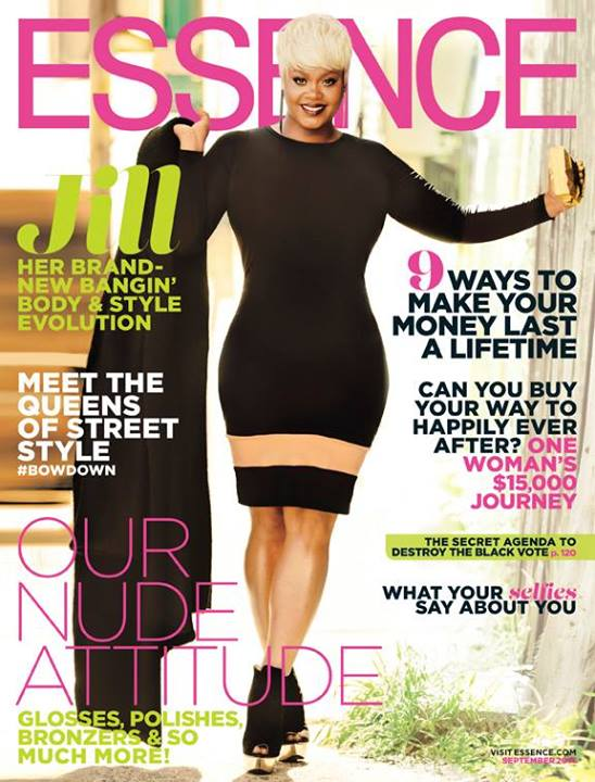 jill scott september 2014 essence cover dress Ekineyo