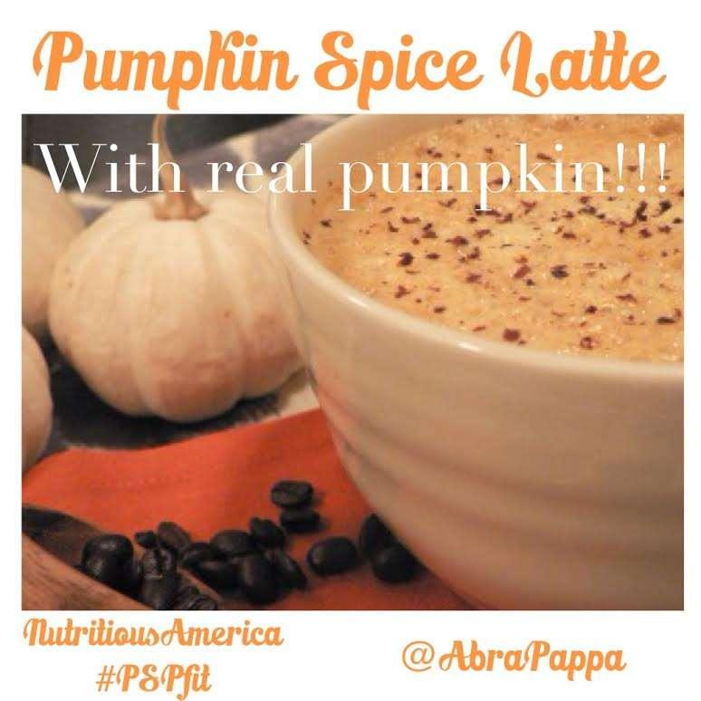 Healthy Pumkpin Spice Latte Clean Eating