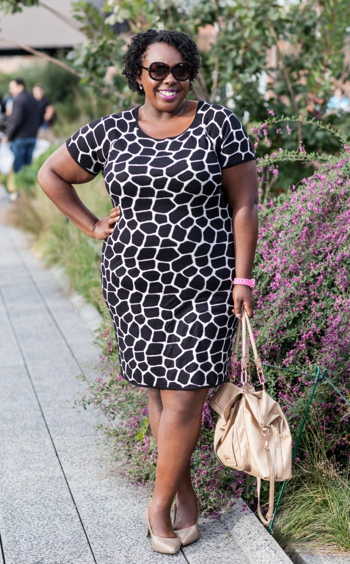 Plus Size Sweater Dress CeCe Olisa