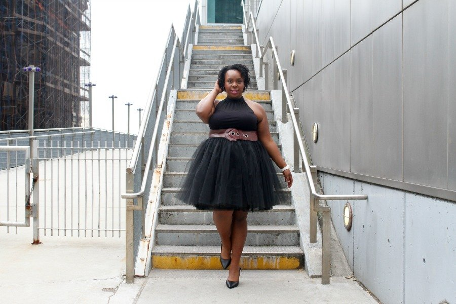 CeCe Olisa Plus Size TuTu Tulle Skirt Formal