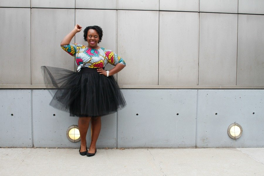 CeCe Olisa Plus Size TuTu Tulle Skirt How to Wear Style Ankara