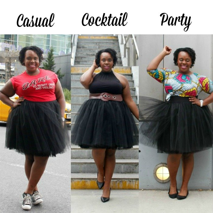 How to wear a Tutu Casual Cocktail Party