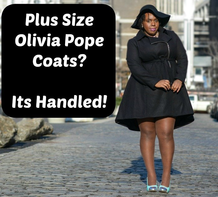 plus size olivia pope coats its handled cece olisa