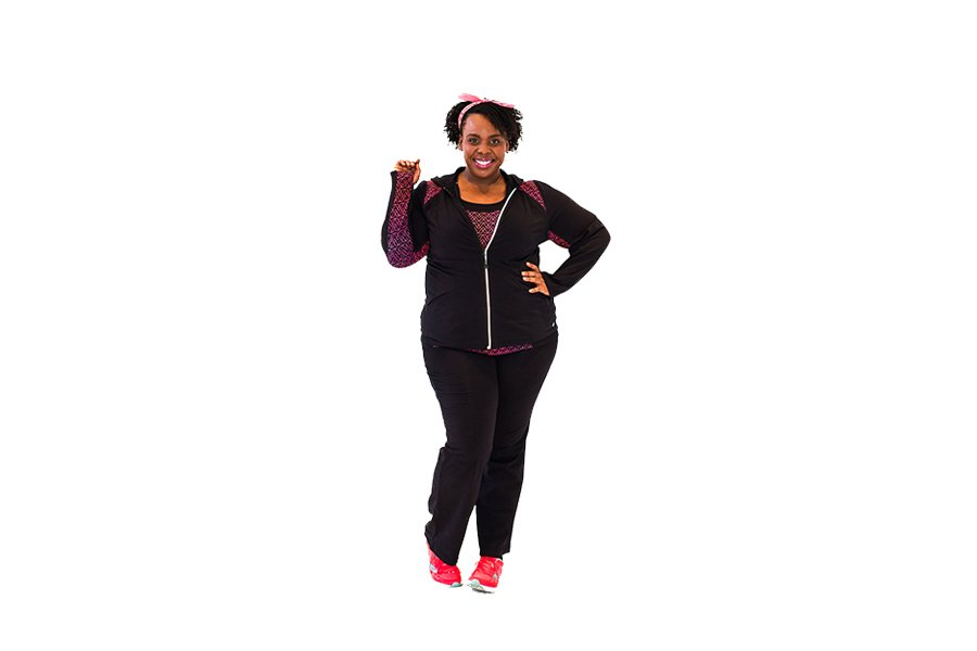 CeCe Olisa Plus Size Fitness #PSPfit Plus Size Gym Clothes