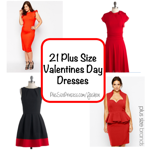 21 plus size valentines day dresses