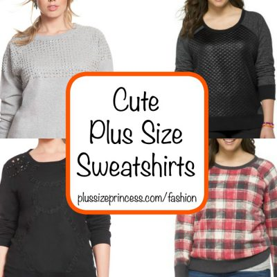 cute plus size sweatshirts