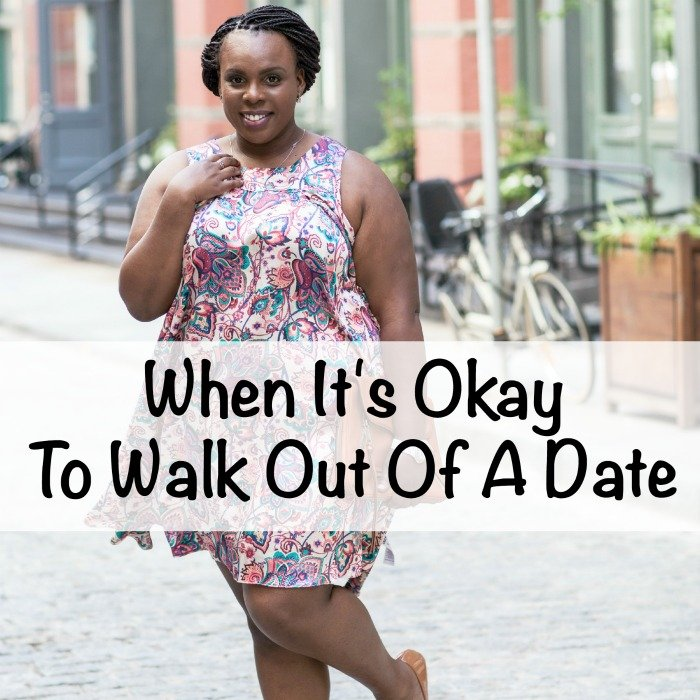CeCe Olisa When It's Okay To Walk Out Of A Date