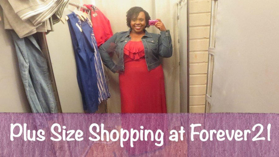 Plus Size Shopping at forever 21