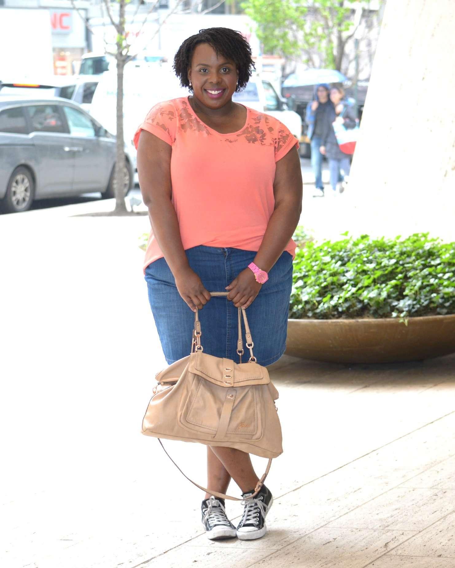 068e34ee3 Plus Size Summer Essentials: a Denim Skirt - CeCe Olisa
