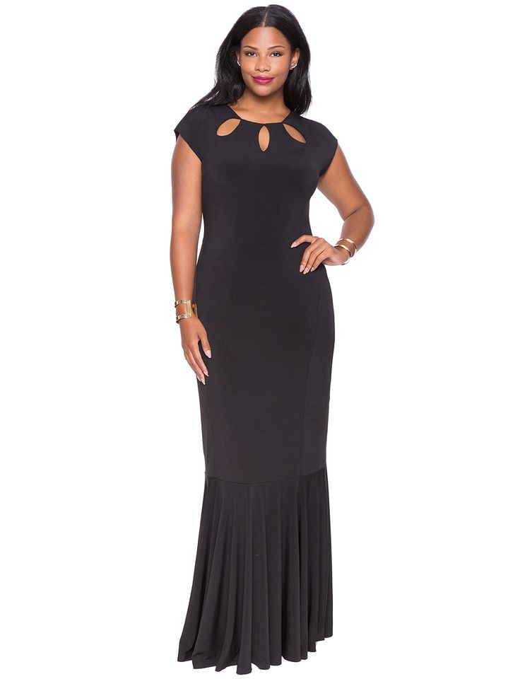 www.plussizeprincess.com model or me CeCe Olisa Eloquii Gown