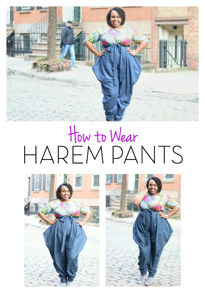 How to Wear Harem Pants PlusSizePrincess.com