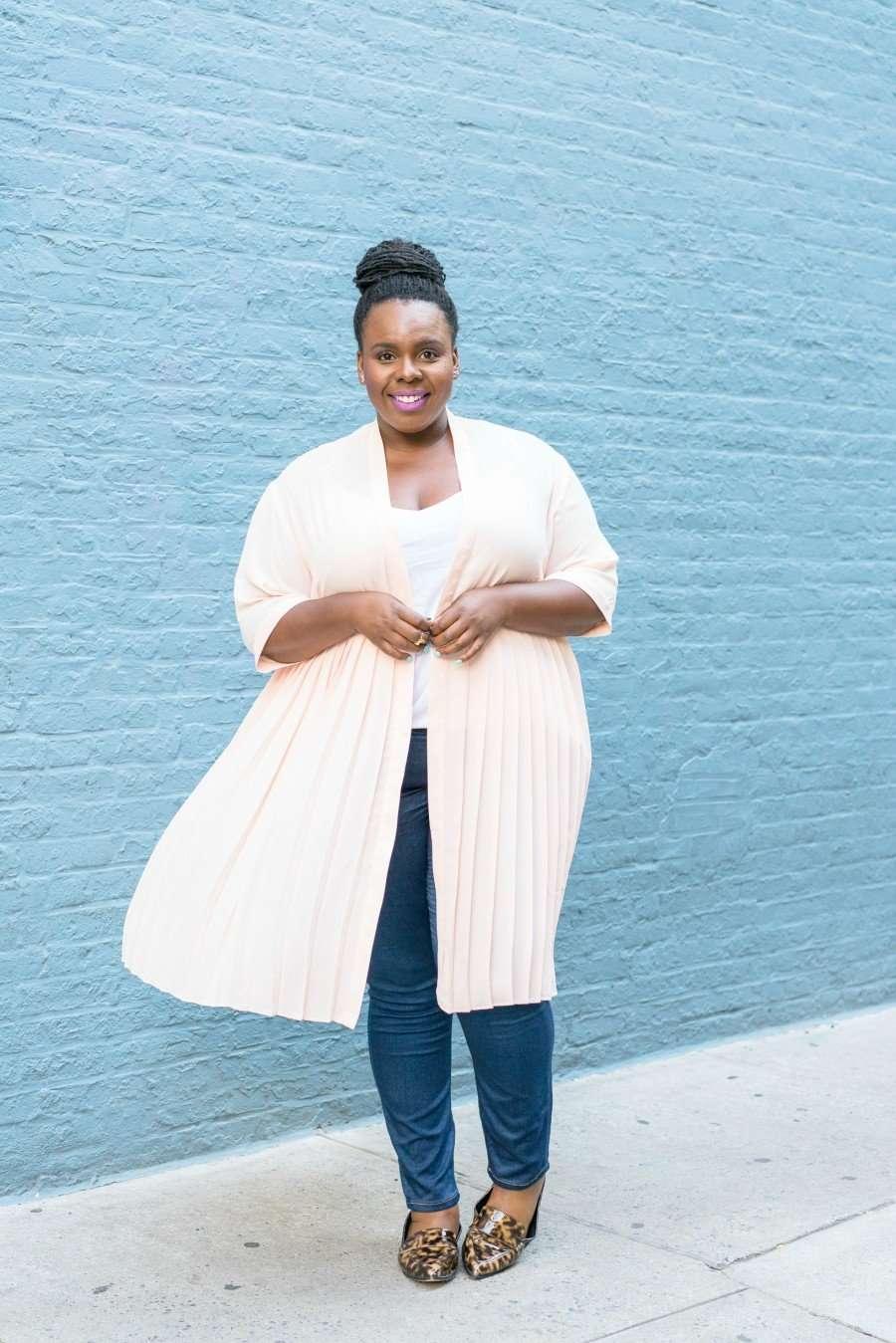 CECE Olisa Plus Size Kimono 1
