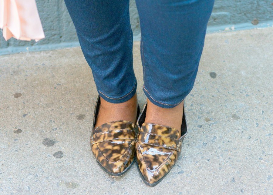 CECE Olisa Wide Width Leopard Shoes