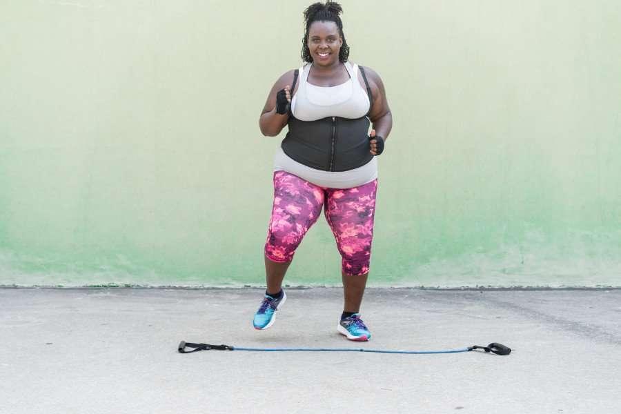 CeCe Olisa Plus Size Workout Jog