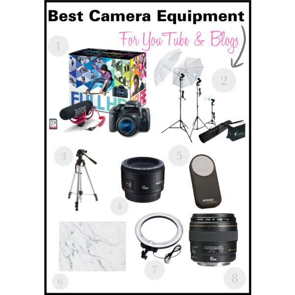best-camera-equipment-for-youtube-and-blogs