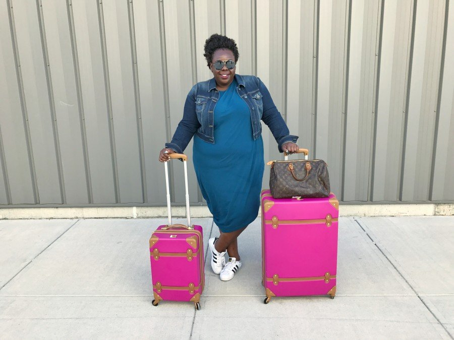 CeCe Olisa Travel Luggage Guide
