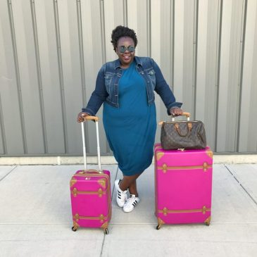 Super Affordable Cute Luggage Sets