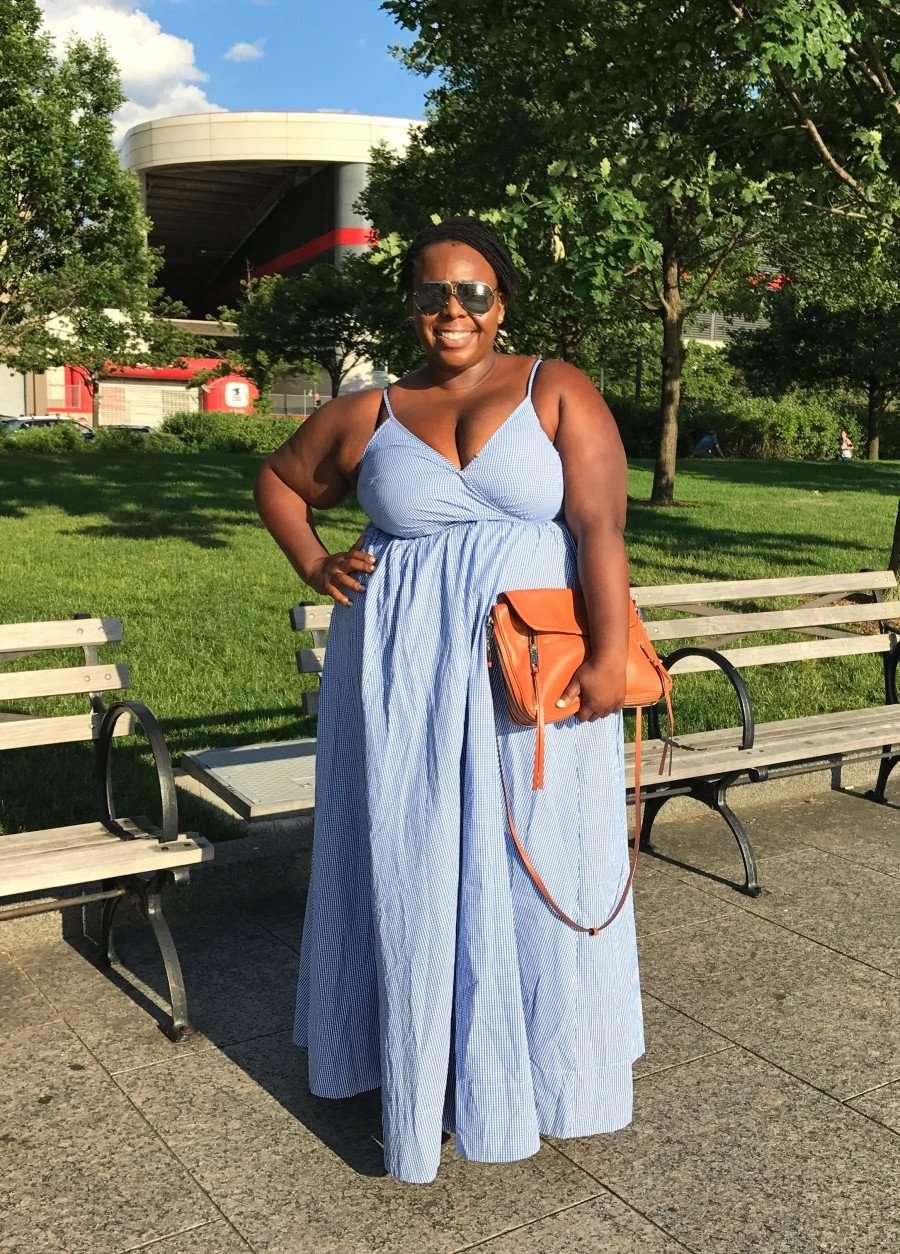 CeCe Olisa Maxi Dress for Tall Girls