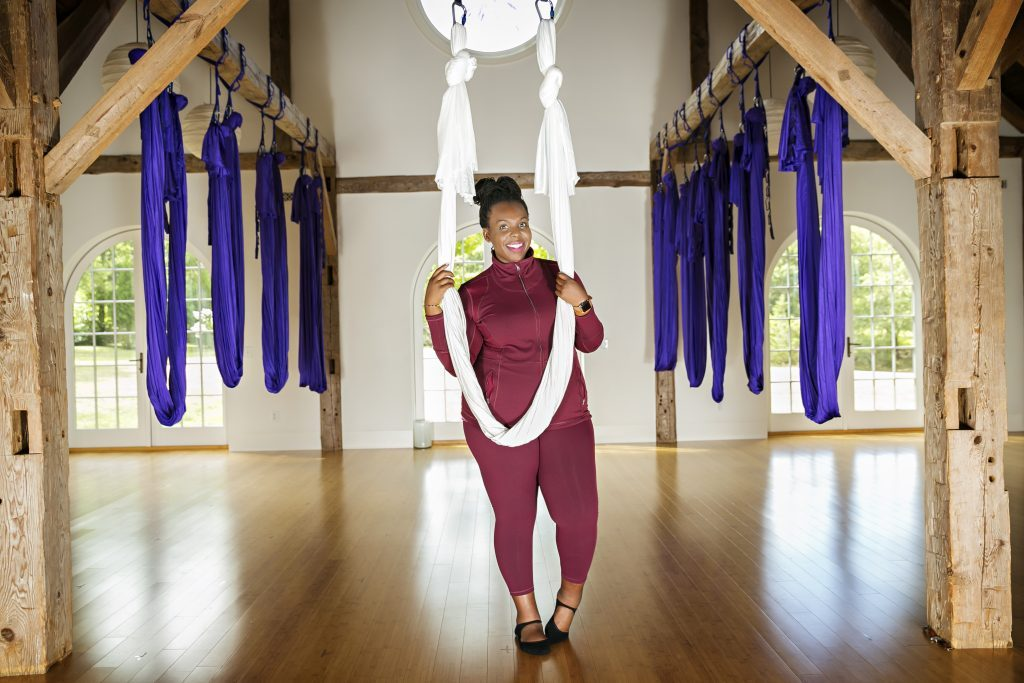 Body Positive Workout Aerial Yoga Cece Olisa