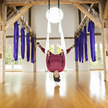 Body Positive Workout: Aerial Yoga