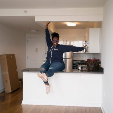 How I Moved into My DREAM Apartment